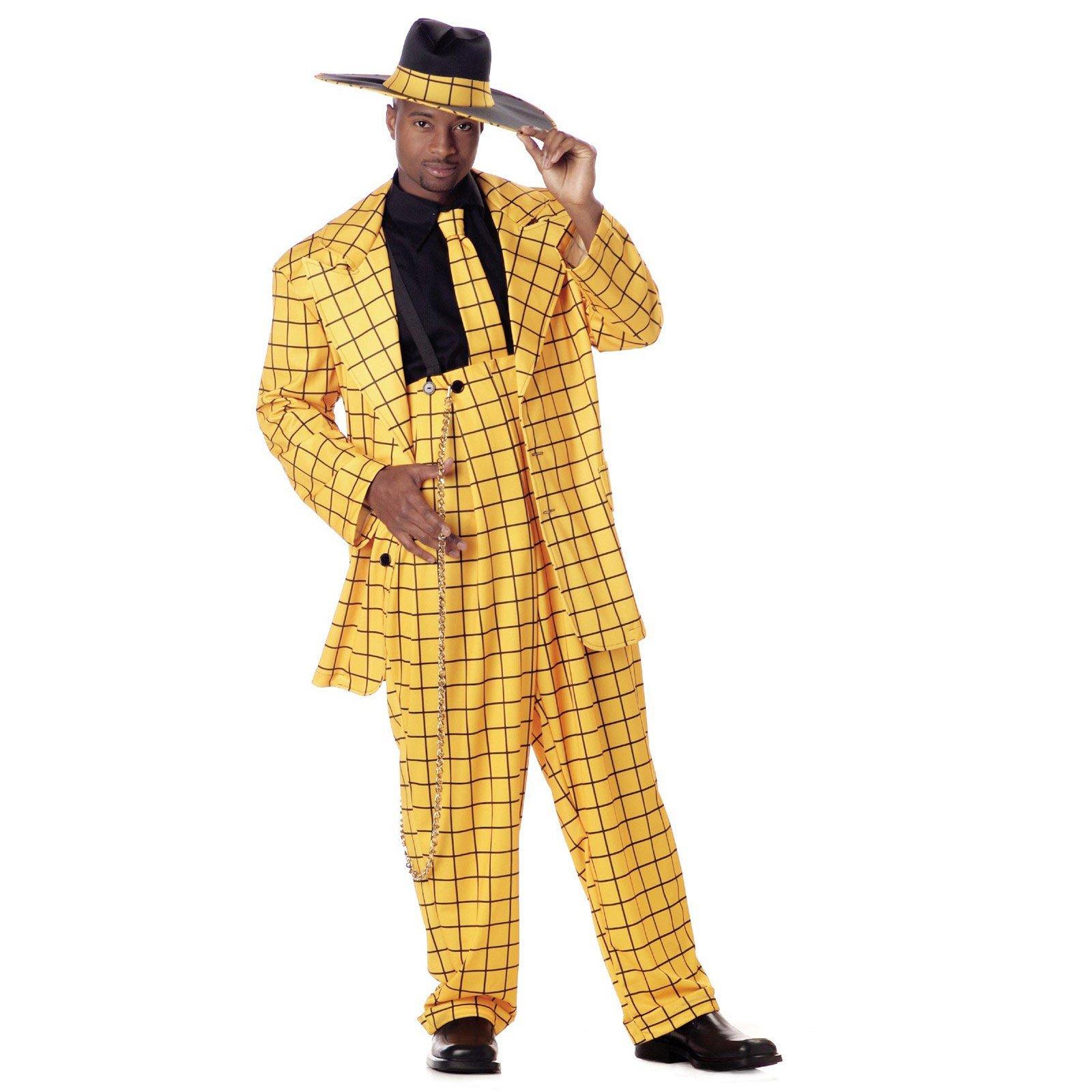 zoot suit yellow